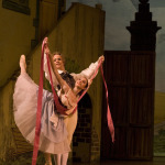 Lise in La Fille Mal Gardee, photo Hans Nilsson