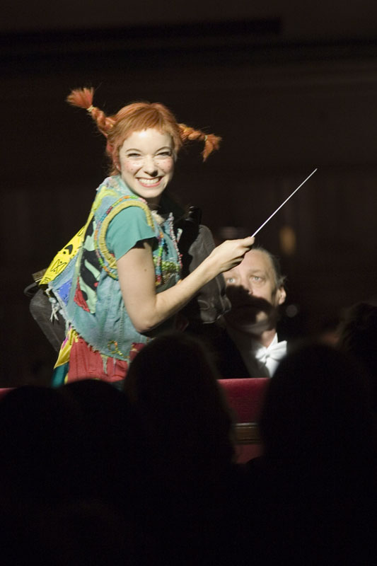 Pippi in Pippi Longstocking, photo Hans Nilson