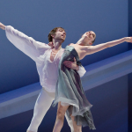 Juliet in Romeo and Juliet with Jeoren Verbruggen, photo Marie-Laure Briane