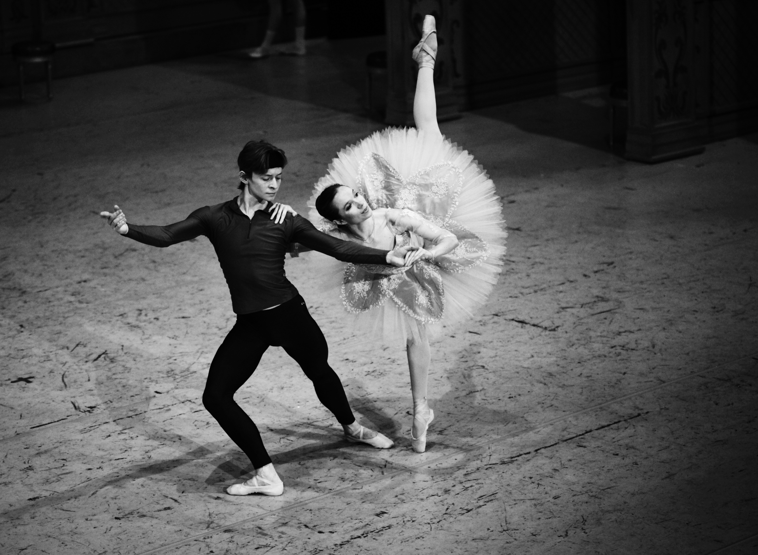 Aurora in Sleeping Beauty with Daniil Simkin, photo Tobias Regell